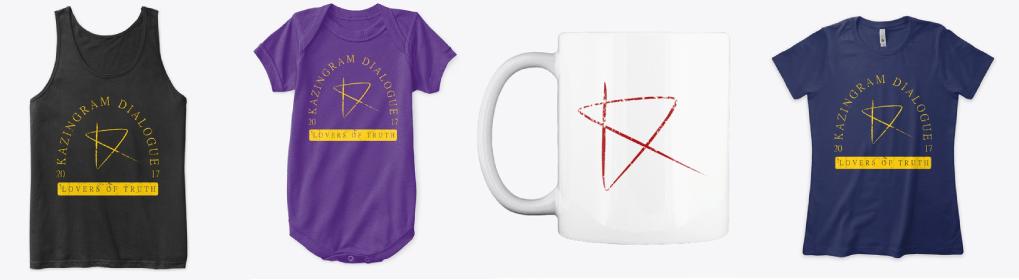 Men's shirts, baby apparel, mugs, women's shirt